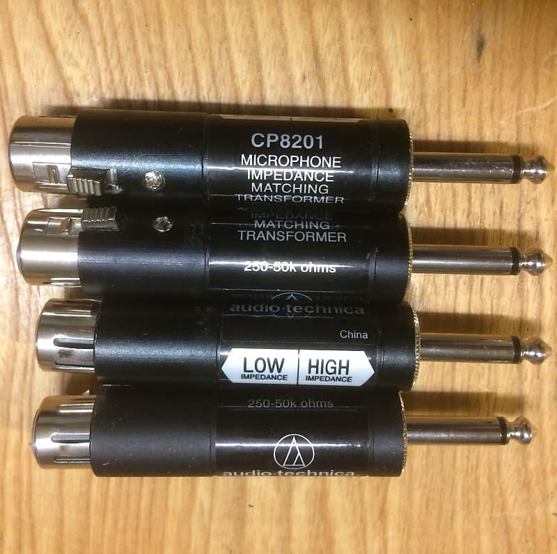 CP8201 Audio-Technica Microphone Impedance Matching Transformer
