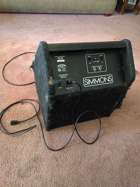 simmons da200s electronic drum set monitor. simmons da200s drum monitor da200s electronic set