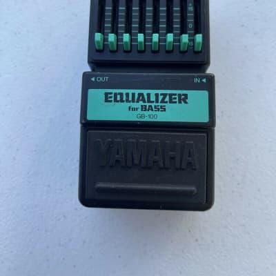 Yamaha GB-100 Bass Graphic Equalizer EQ Rare Vintage Guitar Effect Pedal