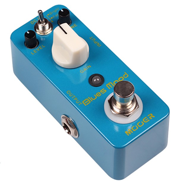 mooer blues mood blues overdrive micro guitar effects pedal reverb. Black Bedroom Furniture Sets. Home Design Ideas