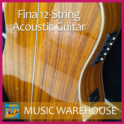 NEW Fina 12-String Acoustic Guitar for sale
