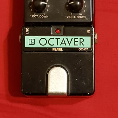 Pearl OC-07 Analog Octaver Up/Down Made In Japan 80's Rare for sale
