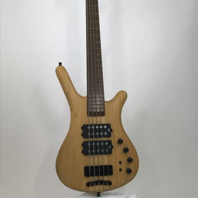 Warwick Corvette Ash 5-String  2010 Natural