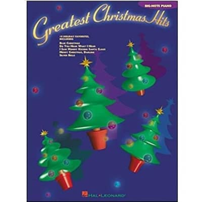 Greatest Christmas Hits: 18 Holiday Favorites (Big-Note Piano)