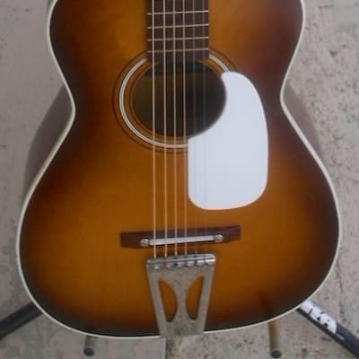 Paramount PA612 Parlor Guitar 1970s Sunburst for sale