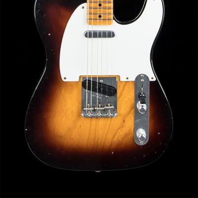 Fender Custom Shop 1956 Telecaster Journeyman Relic (2019) - Wide Fade 2-Color Sunburst for sale