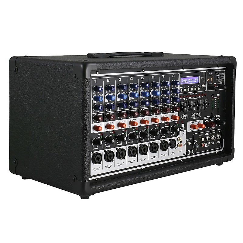 peavey pvi 8500 8 channel 400w powered pa head with bluetooth reverb. Black Bedroom Furniture Sets. Home Design Ideas