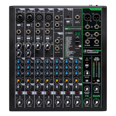 Mackie ProFX10v3 10-Channel Effects Mixer