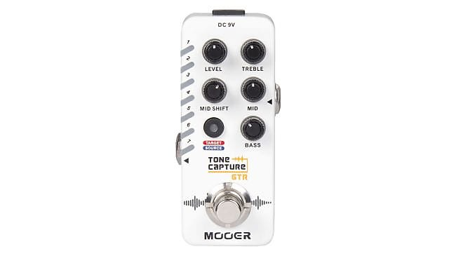 Mooer Tone Capture GTR EQ / Modeler, New, Free Shipping