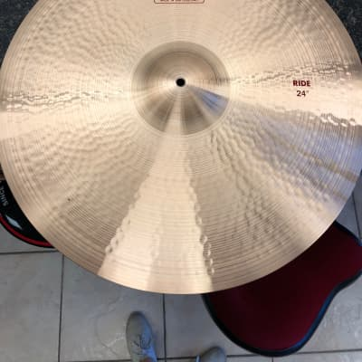 """Paiste 24"""" 2002 Ride Cymbal Traditional"""