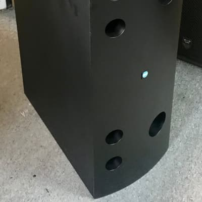 """RCF MSW8 Passive Subwoofer 12"""" Black with L12P300 Woofer High Quality"""