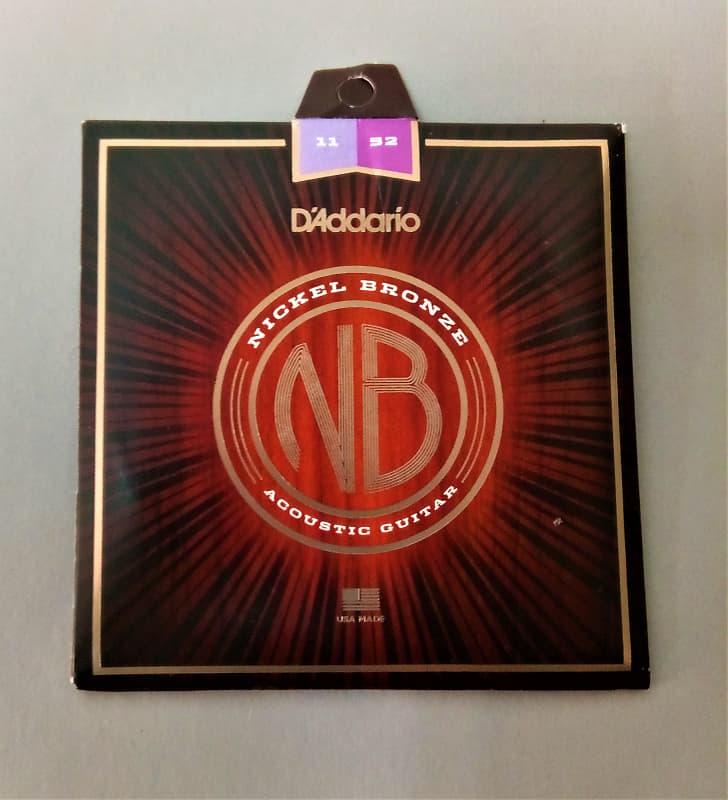 d 39 addario nb1152 nickel bronze acoustic guitar strings reverb. Black Bedroom Furniture Sets. Home Design Ideas