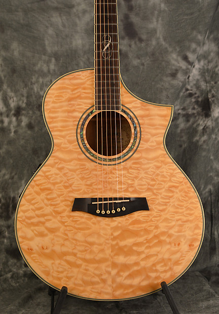 Ibanez EW20 QME Natural Gloss Quilted Maple Acoustic Electric   Reverb : quilted maple acoustic guitar - Adamdwight.com