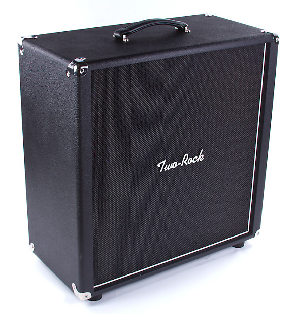 Two-Rock 4X10 Extension Cabinet, Patriot Speakers, Black | Reverb