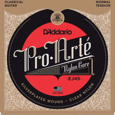 D'Addario Classical Guitar Strings, Pro Arte Normal Tension