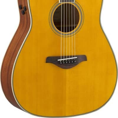 Yamaha FG-TA TransAcoustic Guitar - Vintage Tint for sale