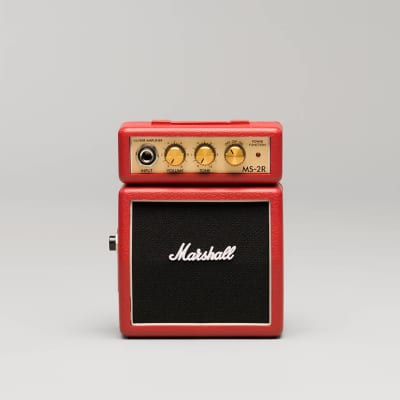 Marshall MS-2R Micro Amp, Red for sale