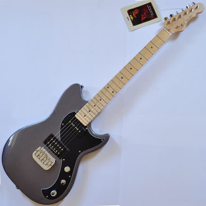 g l fallout usa custom made guitar in graphite metallic reverb. Black Bedroom Furniture Sets. Home Design Ideas