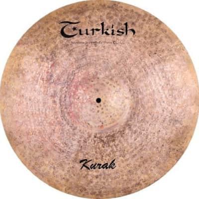 """Turkish Cymbals  Custom Series 18""""  Kurak Crash * K-C18"""