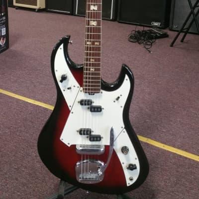 Norma EG-200 Vintage Japanese Electric Guitar w/gigbag 60's Burst for sale