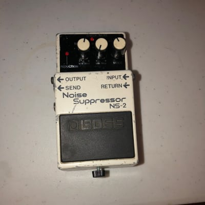 Boss NS-2 Noise Suppressor with Natural Patina