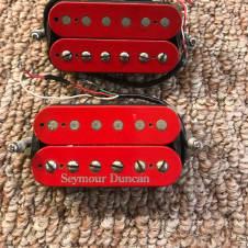 Seymour Duncan Custom Red Bobbin JB & '59! Red