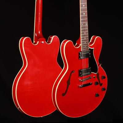 Heritage Standard H-535 Maple Semi-Hollow - Translucent Cherry w/Hardshell Case for sale