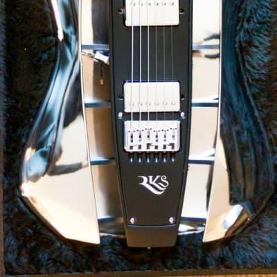 RKS Chrome Molly Hollowbody 2007 Chrome Guitar for sale