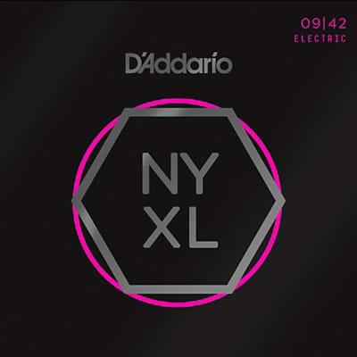 D'Addario NYXL Electric Guitar Strings - Super Light Gauge 9-42