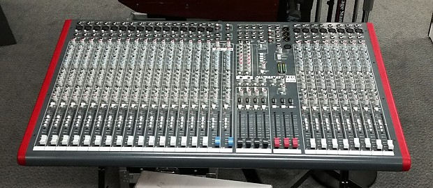 allen heath zed 428 24 channel 4 bus mixer reverb. Black Bedroom Furniture Sets. Home Design Ideas