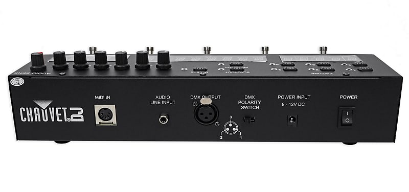 Chauvet Dj Foot C 2 36 Ch Dmx Foot Controller W Midi Input