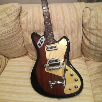 Vintage 1967 Meazzi Explorer (Hollywood Silvertone Harmony Kay Hofner) for sale