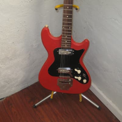 Hohner Strat style 1960's RED for sale