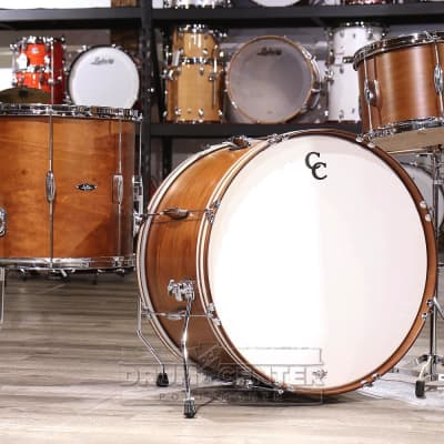 C&C Player Date II 3pc Bonzo Drum Kit Brown Mahogany