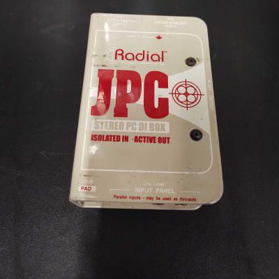 Radial Engineering JPC - Stereo PC-AV Active Direct Box