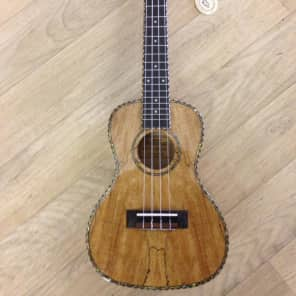 Freshman UKMAPLEC Spalted Maple Concert Ukulele with Gigbag for sale