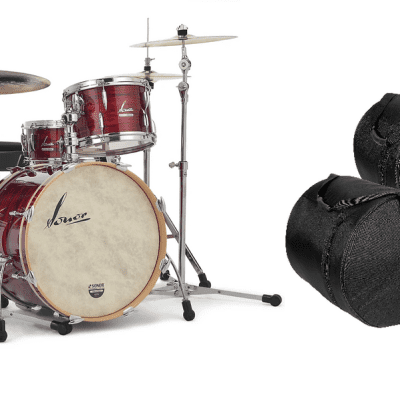 Sonor Vintage Series Red Oyster 22x14_13x8_16x14 Shell Pack Drums +FREE GigBags | Authorized Dealer