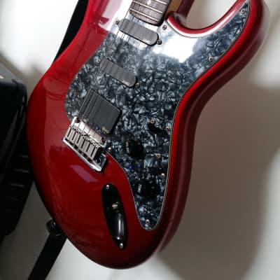 Fender Stratocaster Plus limited color Crimson Red translucent 1995