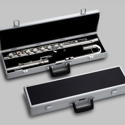 Pearl Bass Flute w/Maintenance Kit, Cleaning Rod, Case | Worldwide Ship | NEW Authorized Dealer