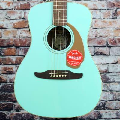 Fender Malibu Player Acoustic-Electric Guitar | Aqua Splash for sale