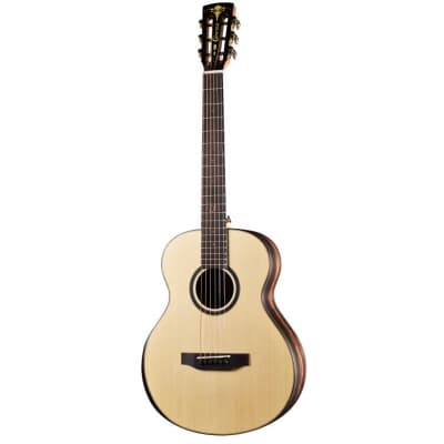 Crafter Mino/Macassar Steel-String Guitar with Gig Bag for sale