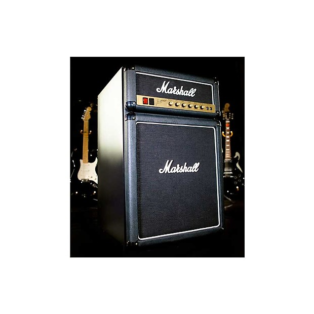 Marshall Fridge Real Mini Refrigerator That Looks Like An