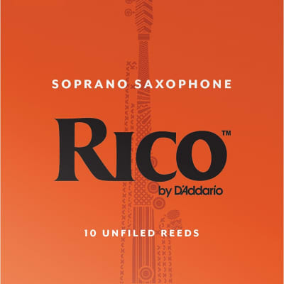 Rico Soprano Sax Reeds Pack of 10 2.5