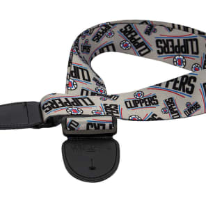 Woodrow Los Angeles Clippers Guitar Strap