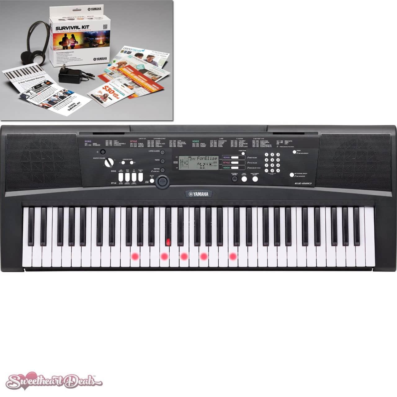 Yamaha Portable Electronic Keyboard Ez