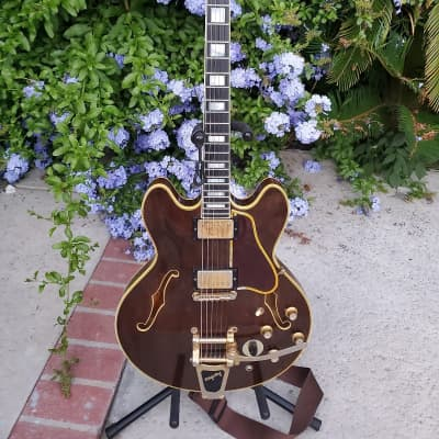 1969 Gibson Es-355 Custom Walnut~100% Original~ Professional Grade Top Of The Line Pre Norlin w no issues   Nice as they get