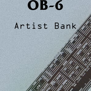INHALT Oberheim Dave Smith OB-6 Artist Sound Bank