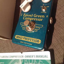Mad Professor Pedal  Green Forest Compressor and Sustainer Hand Wired BJF Design