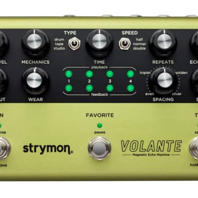 Strymon Volante Magnetic Echo Machine Delay