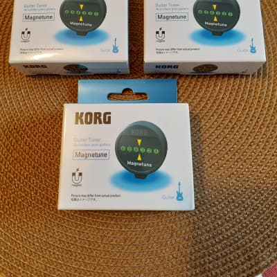 Korg Magnetune MG-1 Guitar tuner (Qty-3) Black